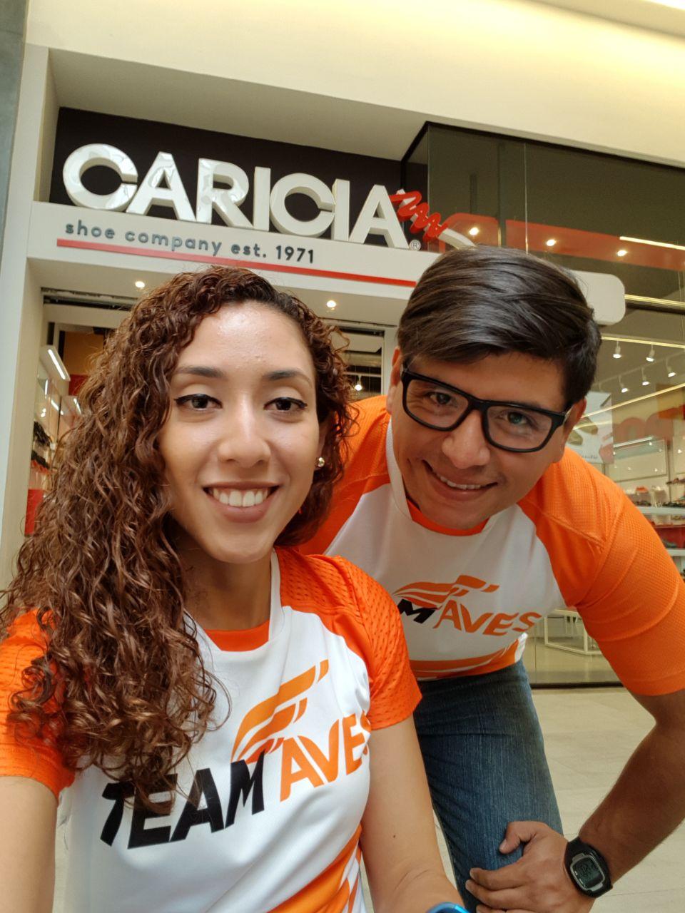 Karla Mina y Mauricio