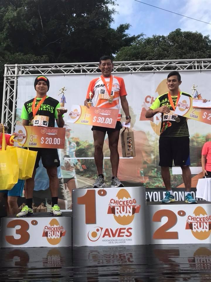 Ganadores 5 Kms masculino