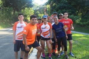 Team AVES en Huizúcar