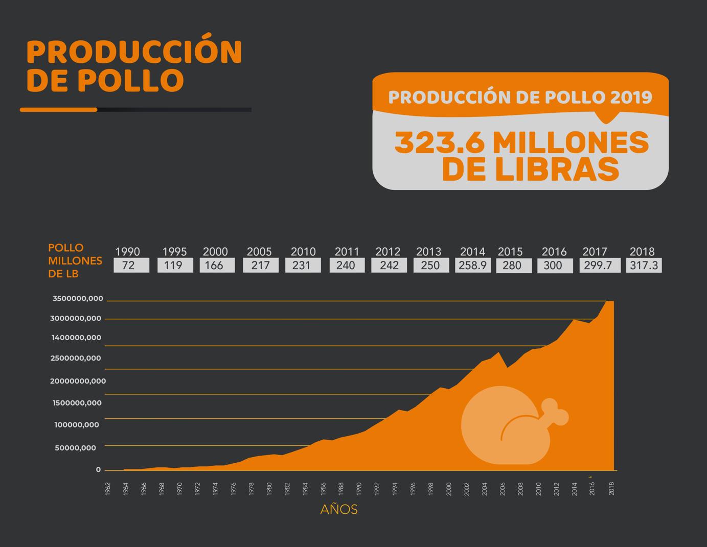 Produccion de Pollo