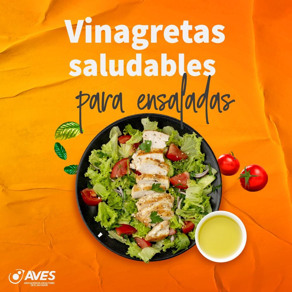 Las vinagretas son la clave para transformar una ensalada