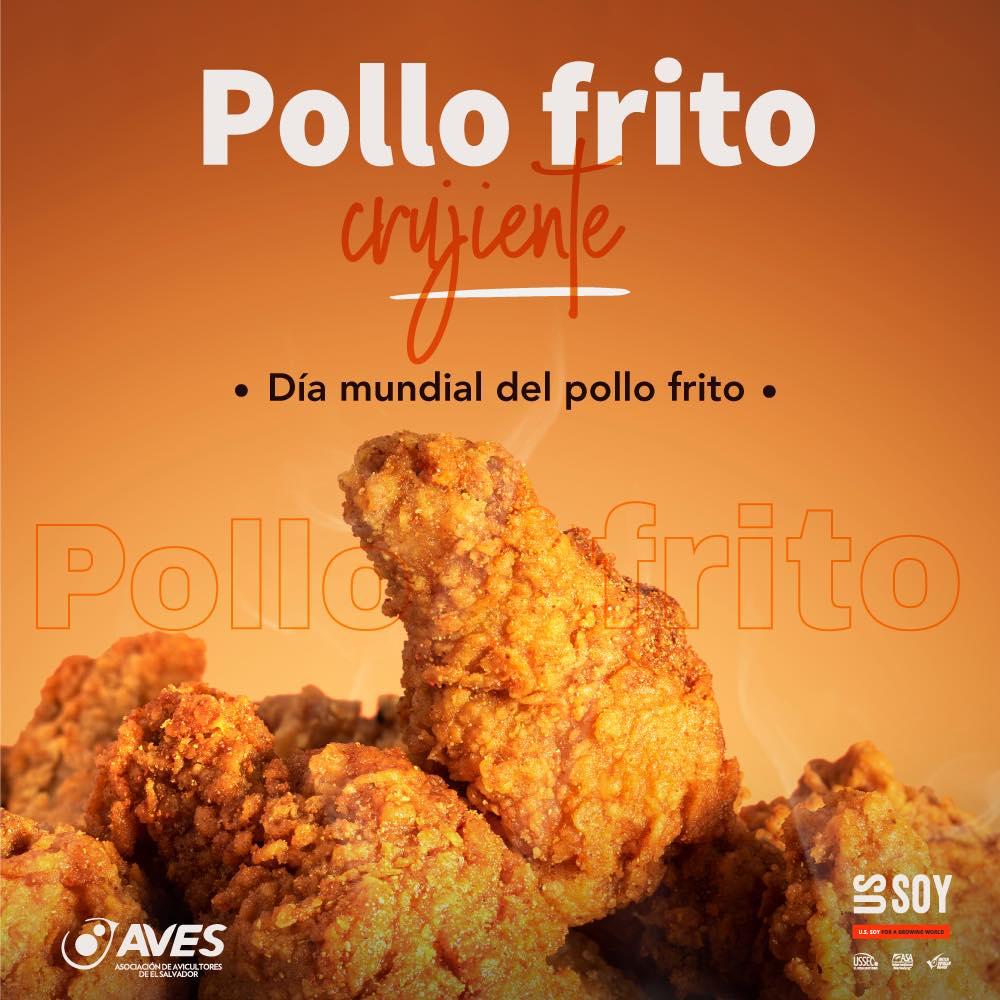 6 de Julio Día Mundial del Pollo Frito